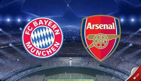 Лига Чемпионов.Бавария - Арсенал